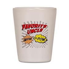 Favorite Uncle Shot Glass