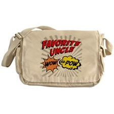 Favorite Uncle Messenger Bag