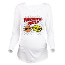 Favorite Uncle Long Sleeve Maternity T-Shirt