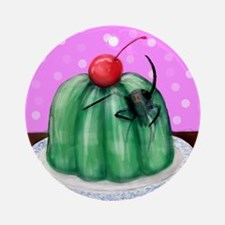 Spider Jelly Round Ornament