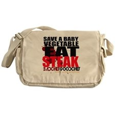 Save A Vegetable Messenger Bag