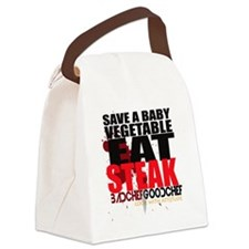 Save A Vegetable Canvas Lunch Bag
