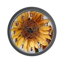 Stacia Nicole's Sunflower Wall Clock