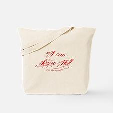 I raise Hell like my daddy Tattoo design Tote Bag