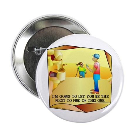 """Geocaching First to Find 2.25"""" Button (10 pack)"""