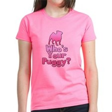 Who's your Puggy? (Pink) Tee