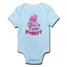 Who's your Puggy? (Pink) Infant Bodysuit