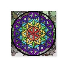 """Flower of Life Square Sticker 3"""" x 3"""""""