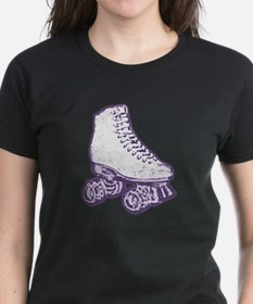 old skool skate purple Tee