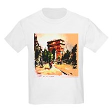 Arc de Triomphe by Herbelot T-Shirt