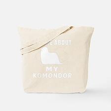 Ask me about my Komondor Tote Bag