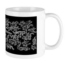 Lots O' Dragons black Mug