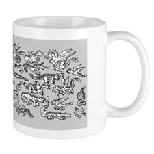 Lots O' Dragons grey Mug