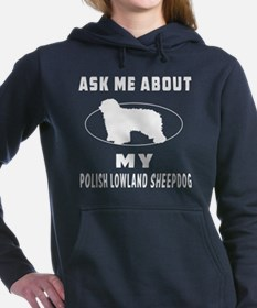 Ask me about my Polish Lowland S Hooded Sweatshirt
