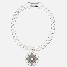 Lotus Charm Bracelet, One Charm