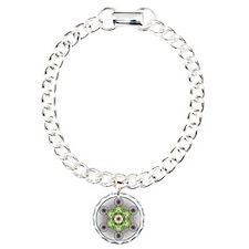 Metatron's Cube Charm Bracelet, One Charm
