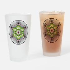Metatron's Cube Drinking Glass