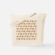Cute Hedgehog Couple in love Pattern Tote Bag