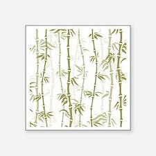 """Bamboo Square Sticker 3"""" x 3"""""""