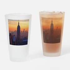Empire State Building, NYC Skyline, Drinking Glass