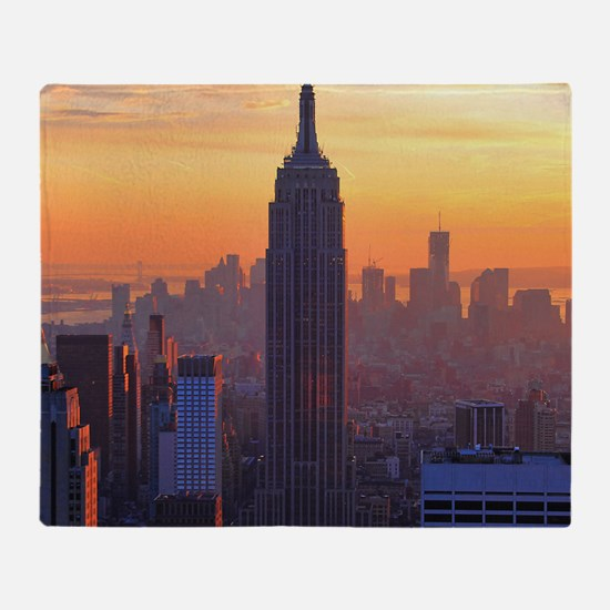 Empire State Building, NYC Skyline,  Throw Blanket
