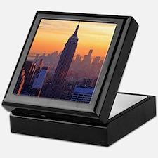 Empire State Building, NYC Skyline, O Keepsake Box