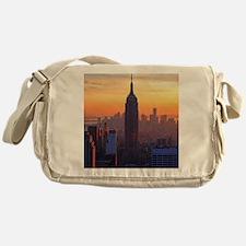 Empire State Building, NYC Skyline,  Messenger Bag
