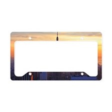 Orange Sunset, Empire State B License Plate Holder