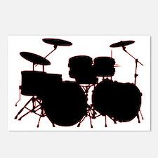 Drum Set Postcards (Package of 8)