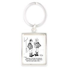 No Need for Confusion Portrait Keychain