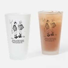 No Need for Confusion Drinking Glass
