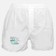 Righty Tighty Lefty Loosey Boxer Shorts