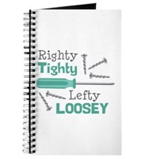 Righty Tighty Lefty Loosey Journal