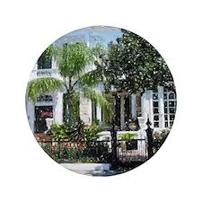 """New Orleans Garden District 3.5"""" Button"""