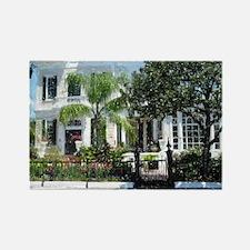 New Orleans Garden District Rectangle Magnet
