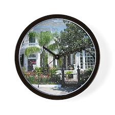 New Orleans Garden District Wall Clock