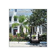 """New Orleans Garden District Square Sticker 3"""" x 3"""""""