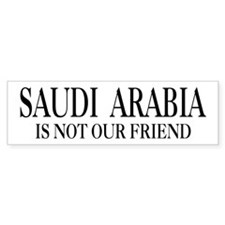 Saudi Arabia Bumper Bumper Sticker