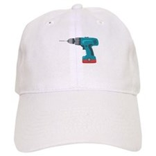 Power Drill Baseball Baseball Cap
