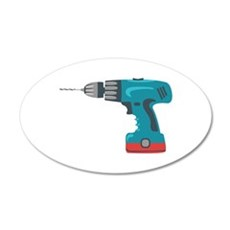 Power Drill Wall Decal