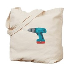 Power Drill Tote Bag