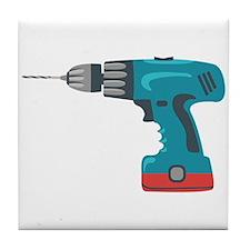 Power Drill Tile Coaster