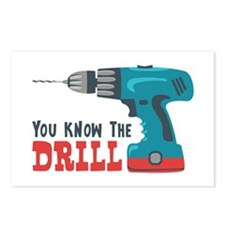 You Know The Drill Postcards (Package of 8)