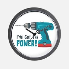 Ive Got The Power! Wall Clock