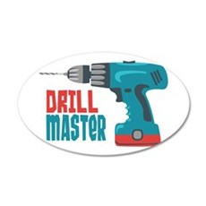 Drill Master Wall Decal