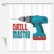 Drill Master Shower Curtain