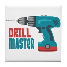 Drill Master Tile Coaster