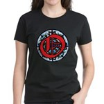 Stained Glass O Women's Dark T-Shirt