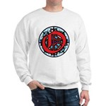 Stained Glass O Sweatshirt