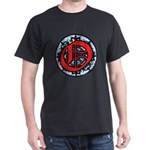 Stained Glass O Dark T-Shirt